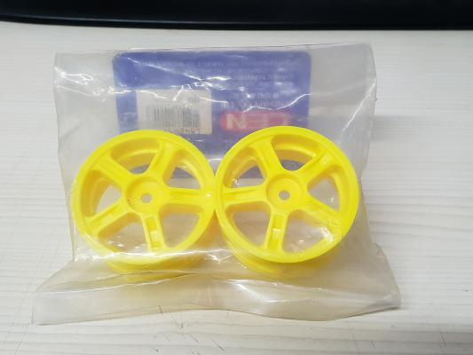 Wheel (5  Spokes/Yellow)